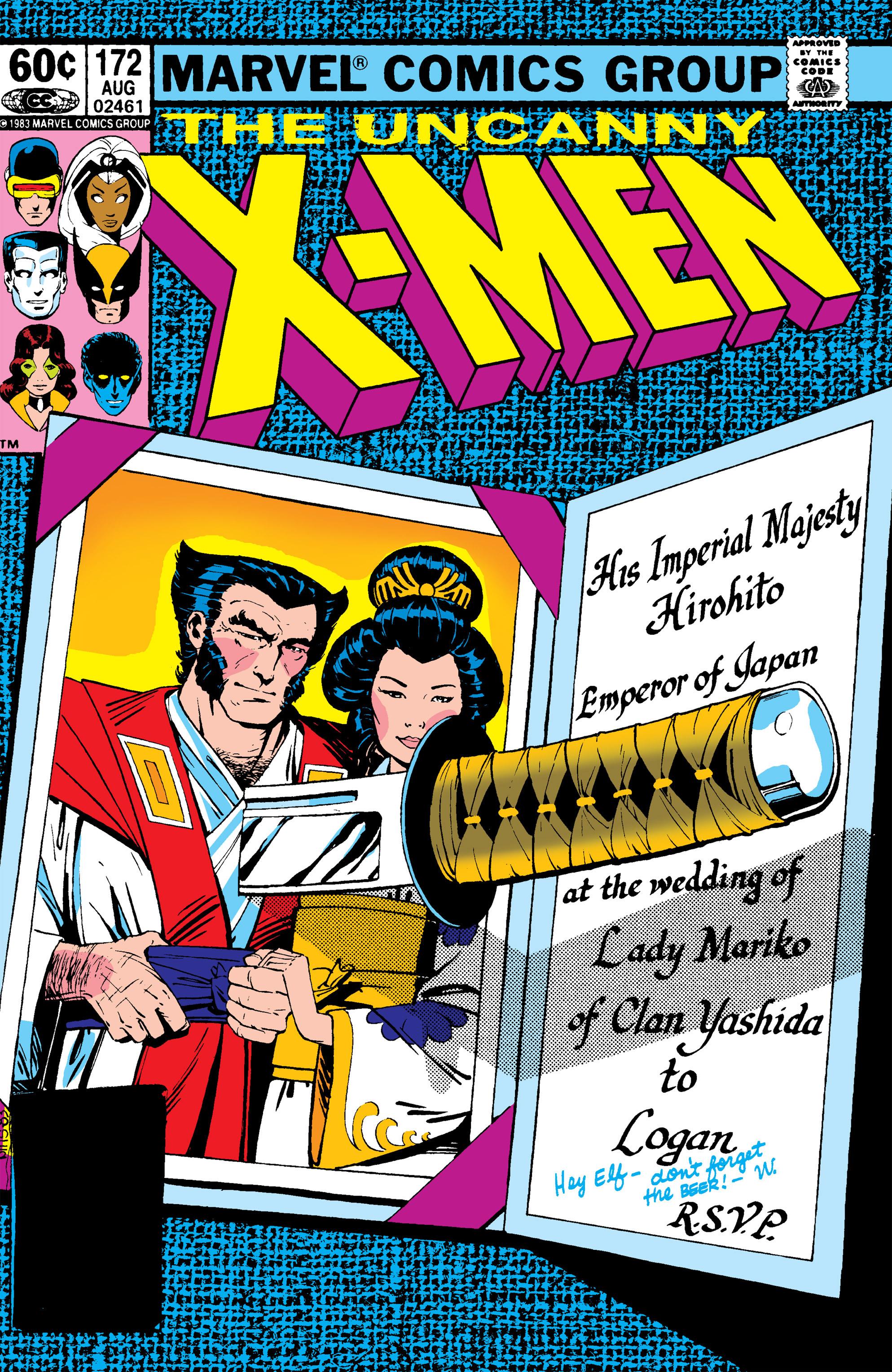 Uncanny X-Men (1963) 172 Page 1
