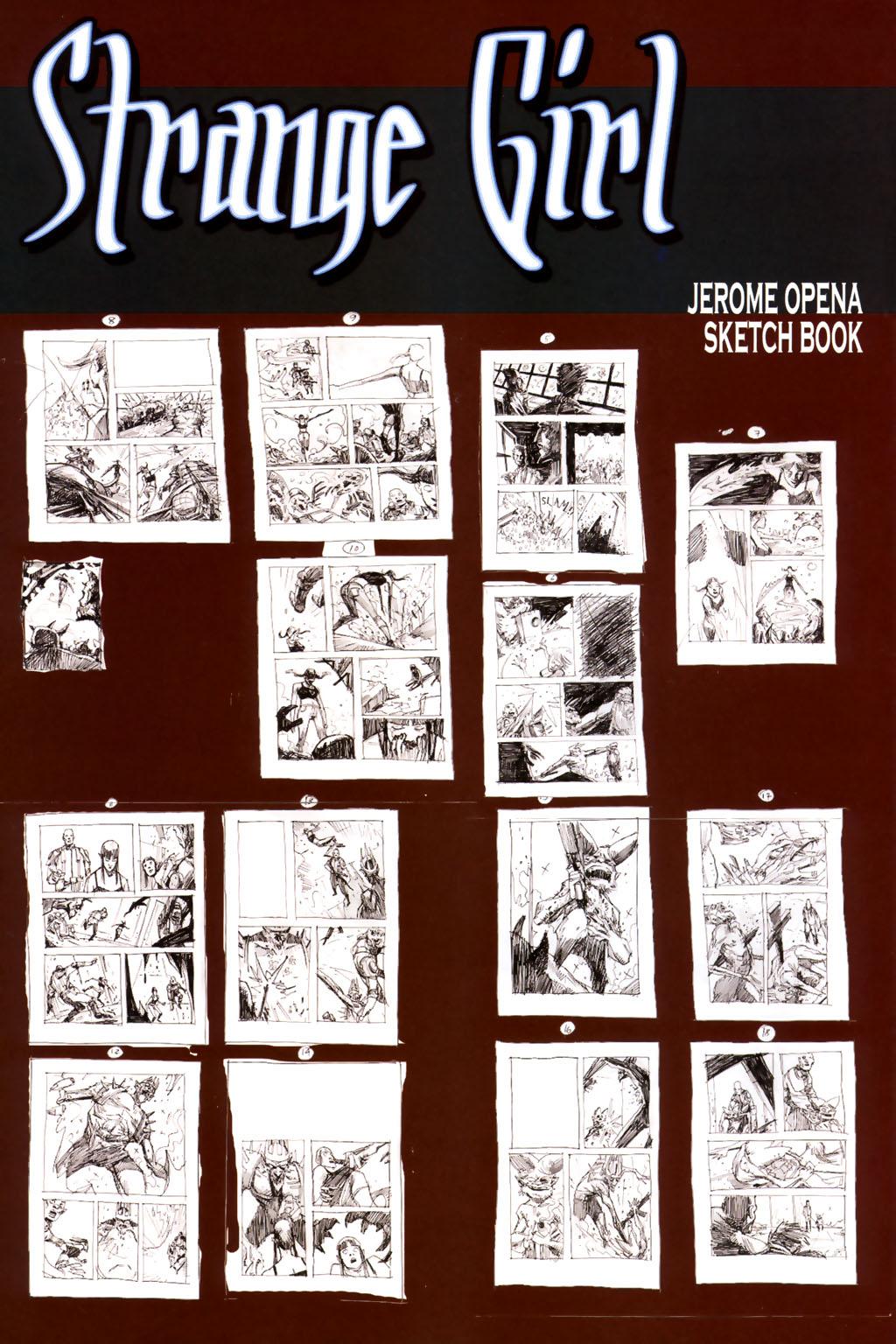 Strange Girl Issue #8 #9 - English 28
