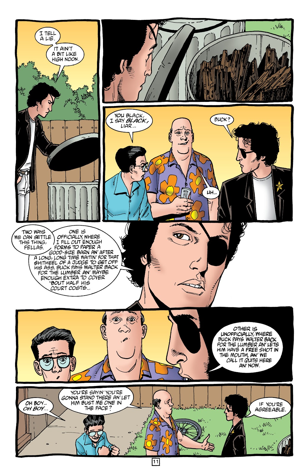 Preacher Issue #45 #54 - English 12