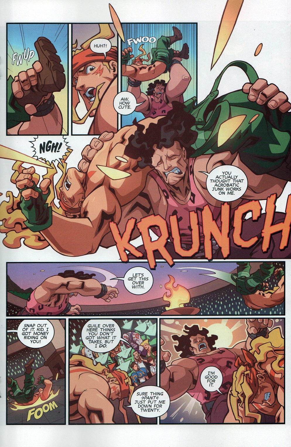 Street Fighter Unlimited Issue #8 #10 - English 17
