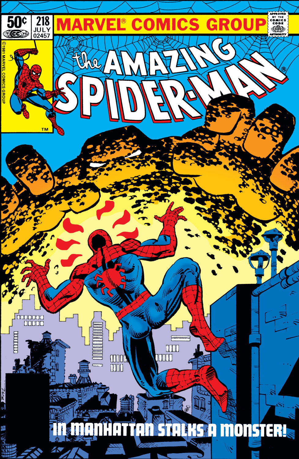 The Amazing Spider-Man (1963) 218 Page 1