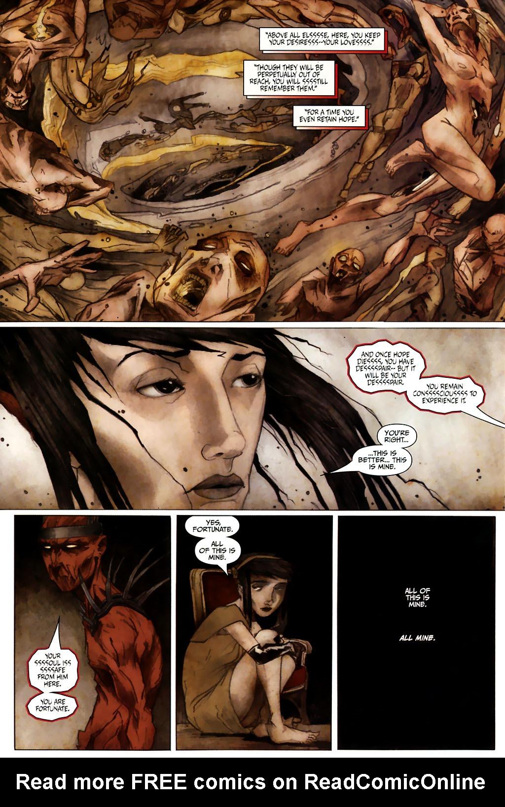 Girl 13 Page 6 #6 - English 22