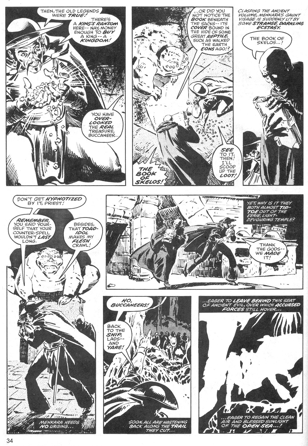 The Savage Sword Of Conan Issue #40 #41 - English 34
