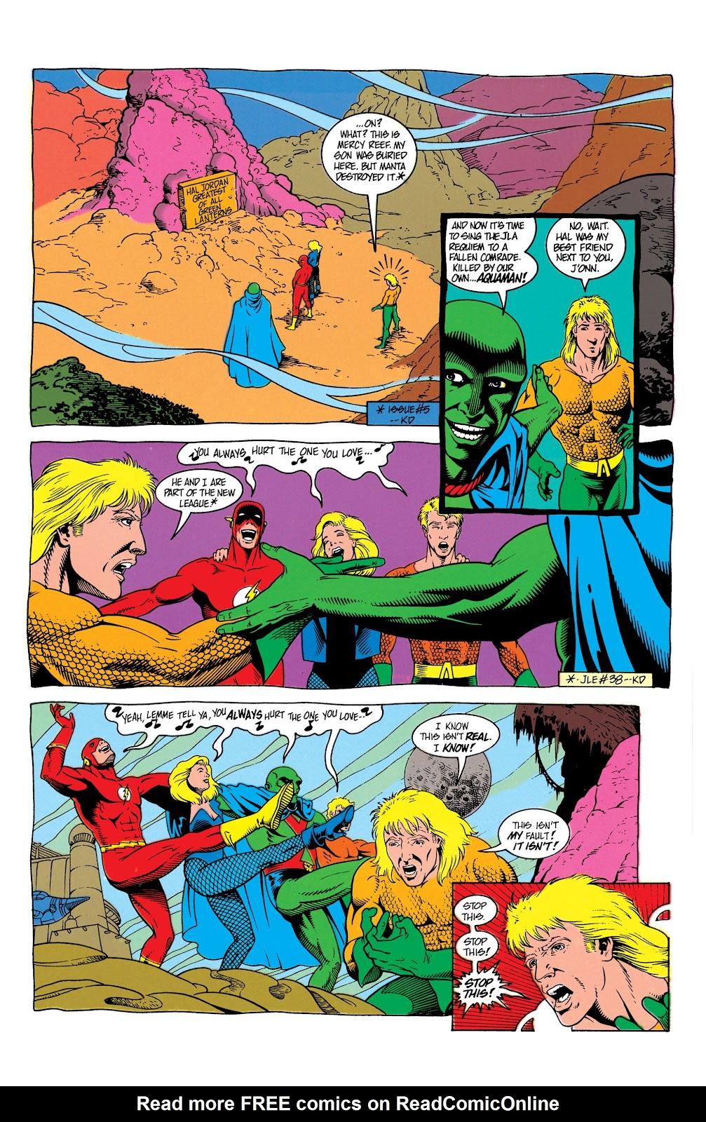 Aquaman (1991) Issue #7 #7 - English 6
