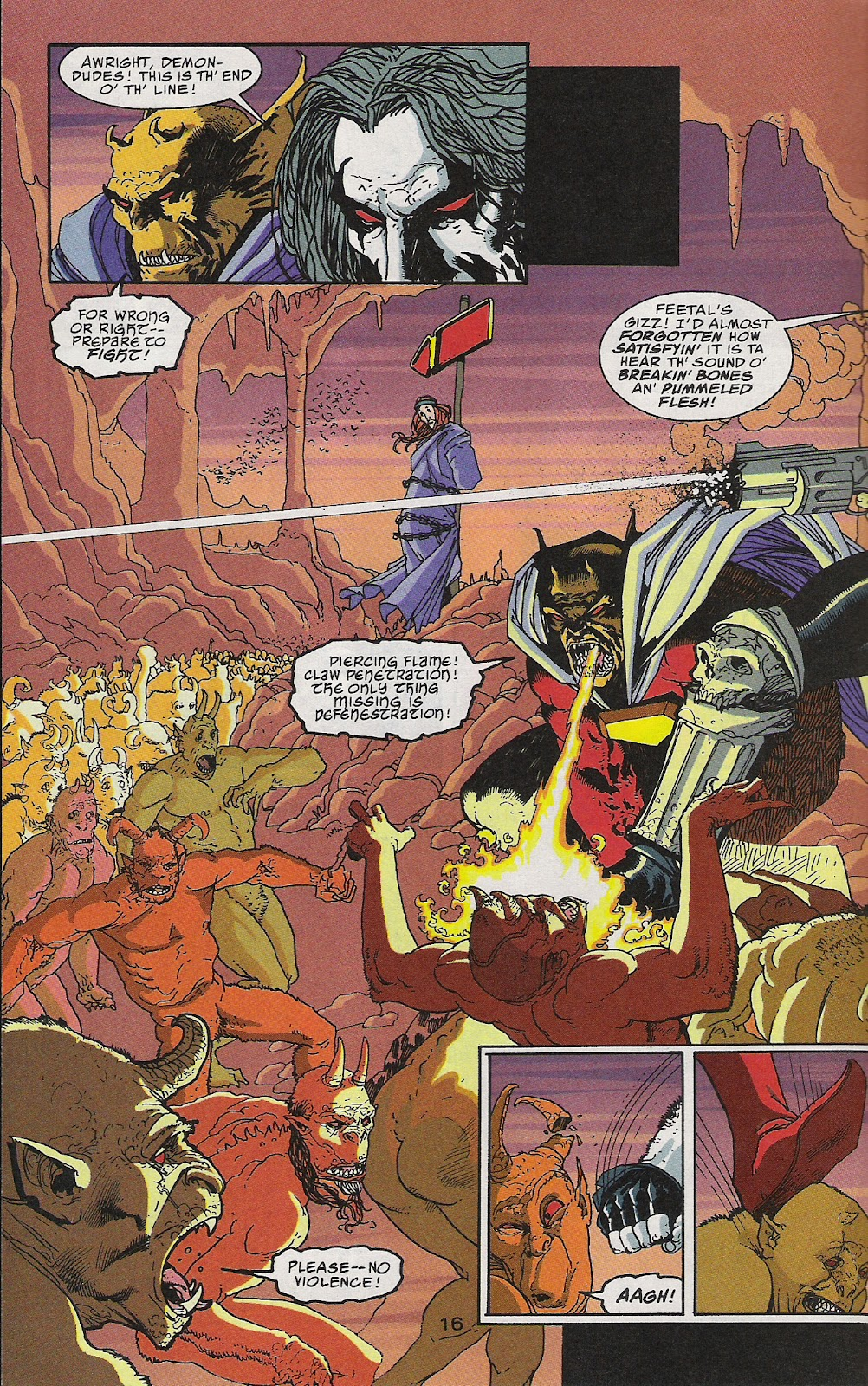 Lobo (1993) Issue #64 #69 - English 17