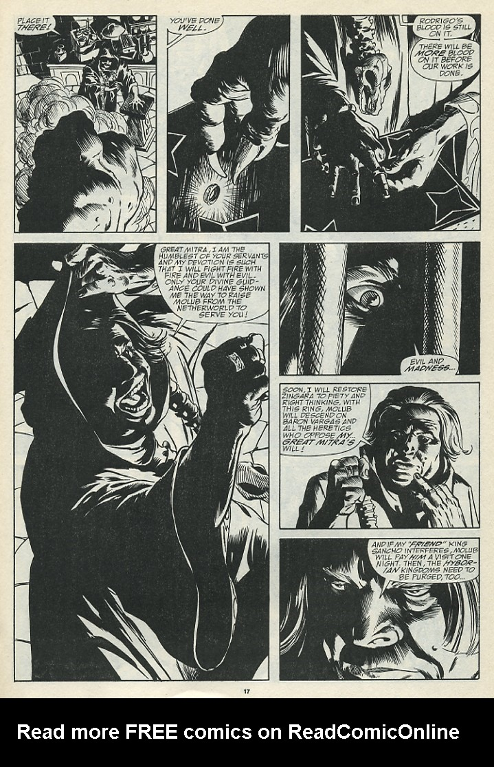 The Savage Sword Of Conan Issue #185 #186 - English 19