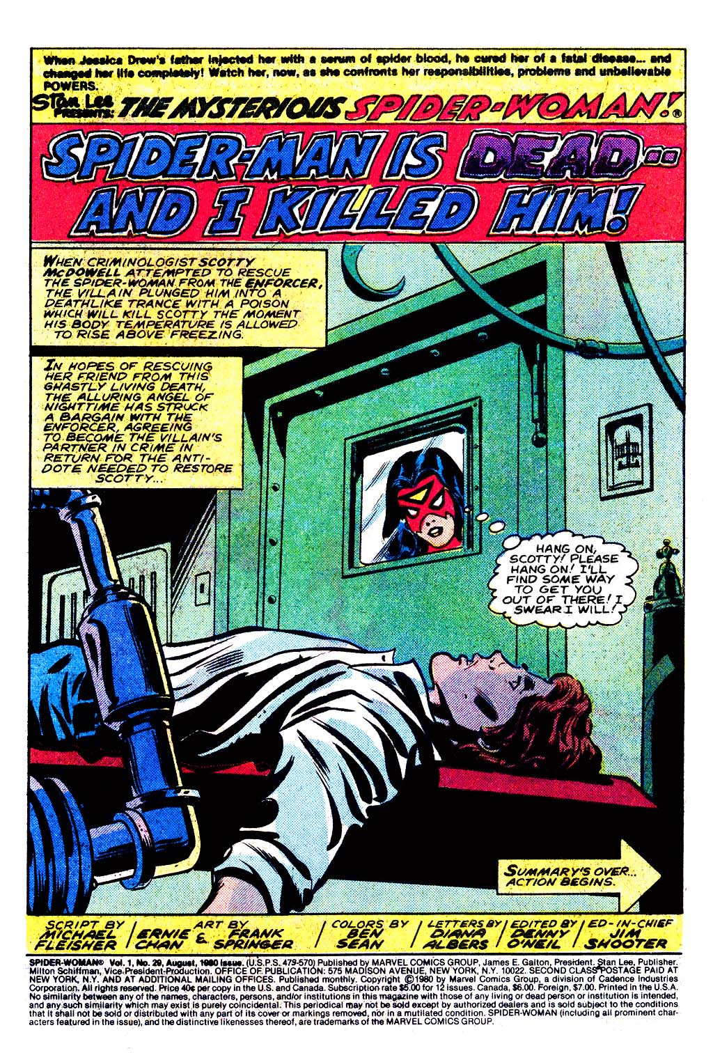 Spider-Woman (1978) Issue #29 #29 - English 2