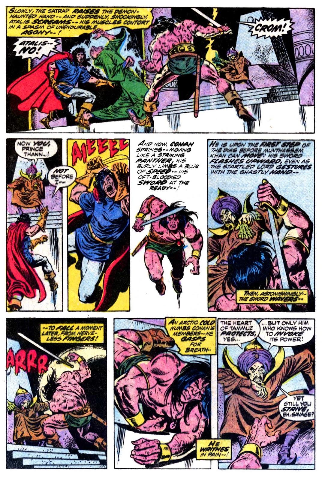 Conan the Barbarian (1970) Issue #30 #42 - English 16