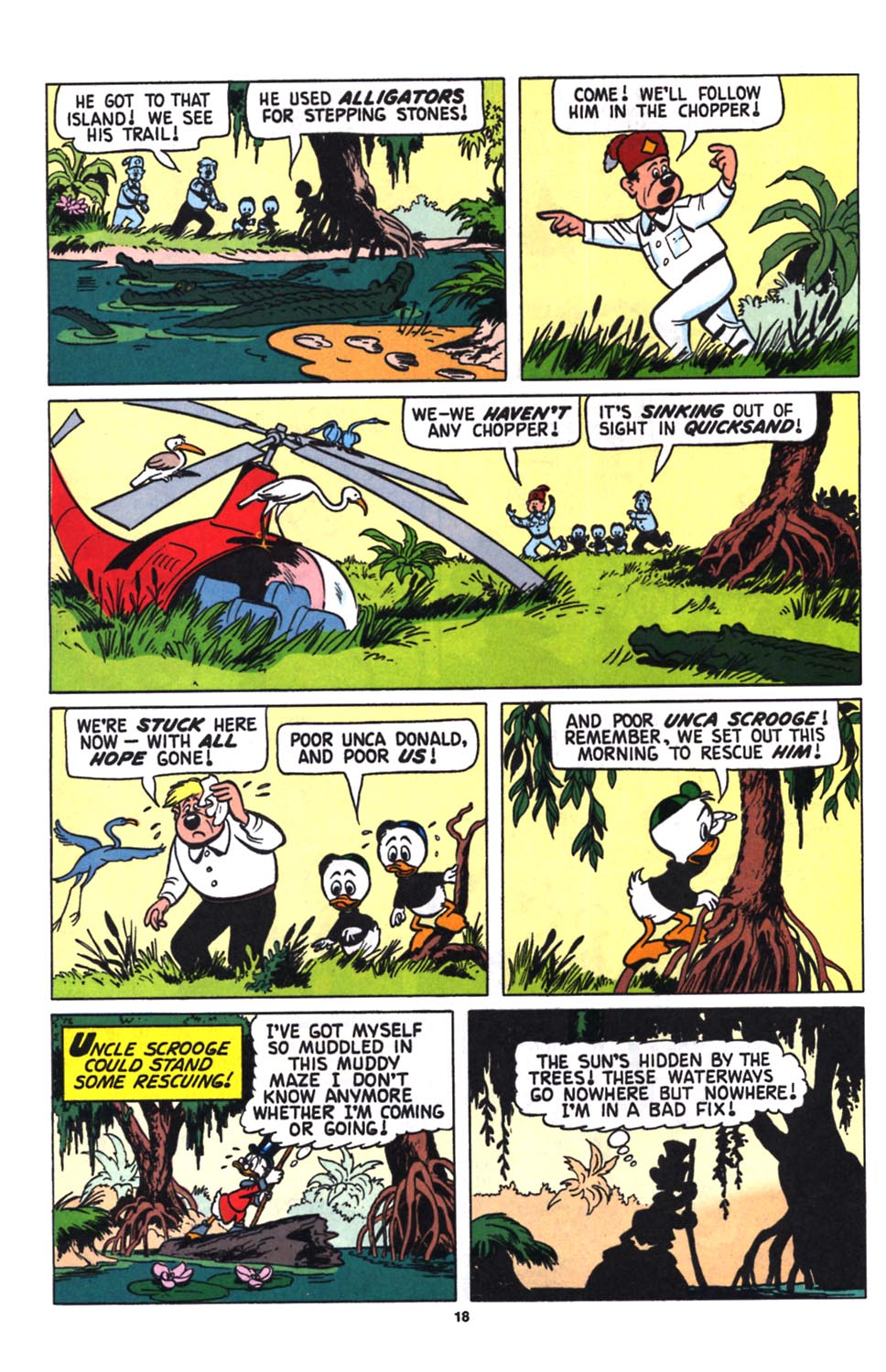Uncle Scrooge (1953) Issue #258 #258 - English 20