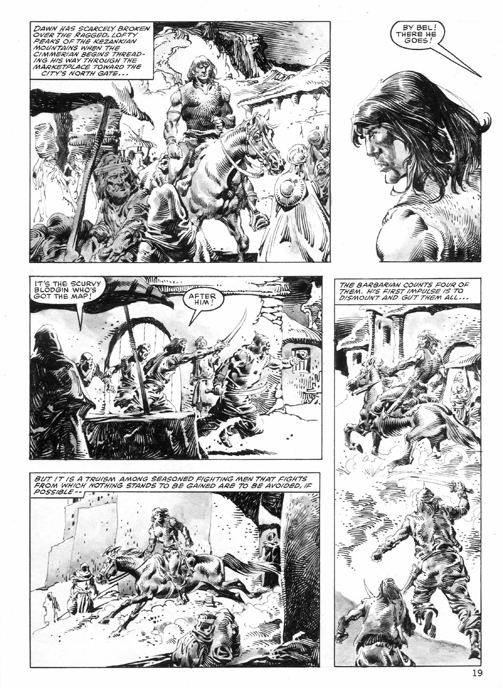 The Savage Sword Of Conan Issue #98 #99 - English 19