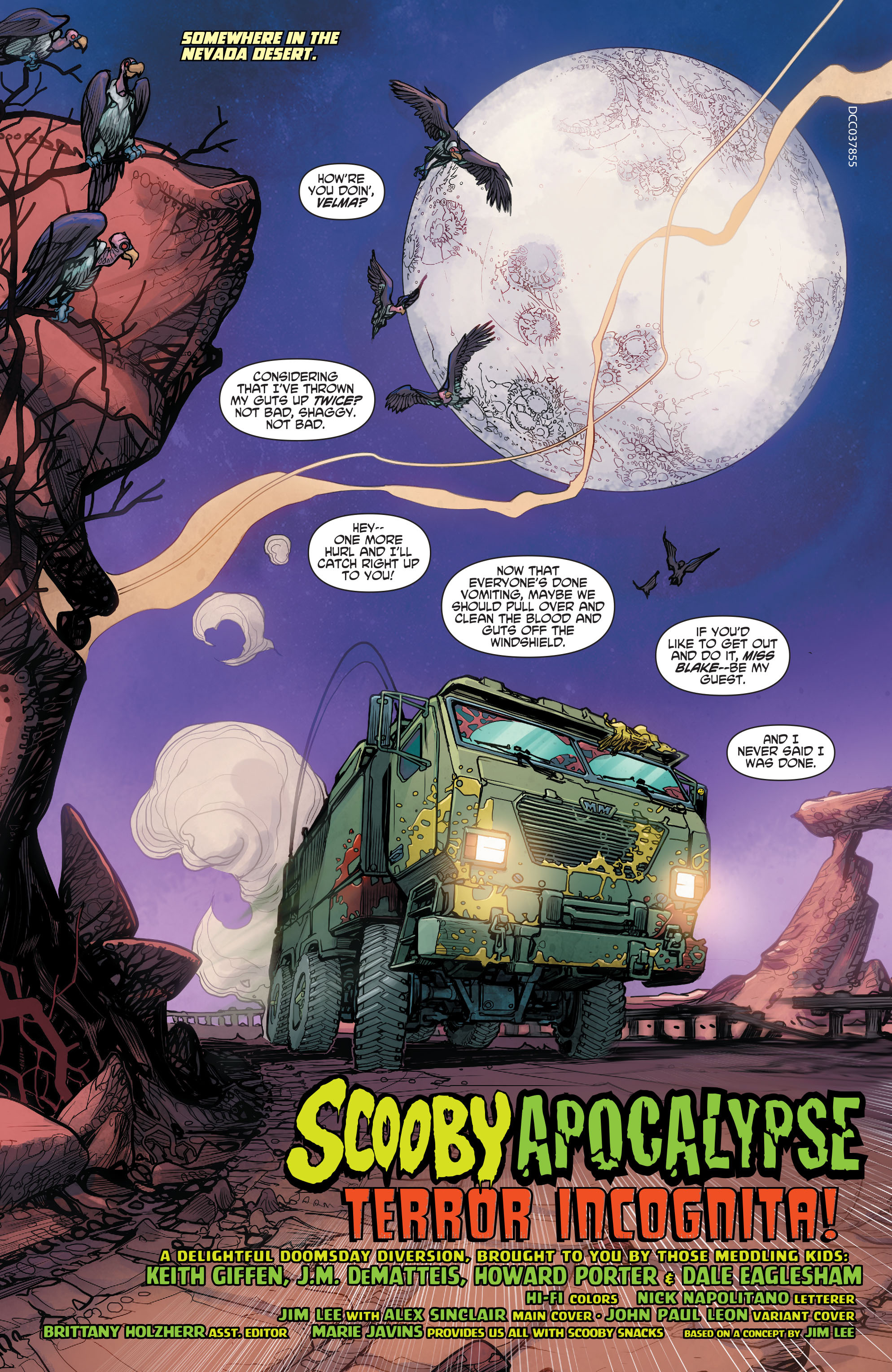 Read online Scooby Apocalypse comic -  Issue #3 - 4