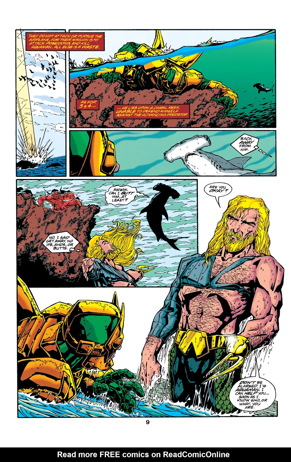 Aquaman (1994) Issue #37 #43 - English 9