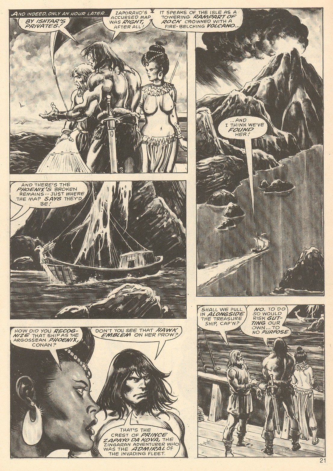 The Savage Sword Of Conan Issue #67 #68 - English 21