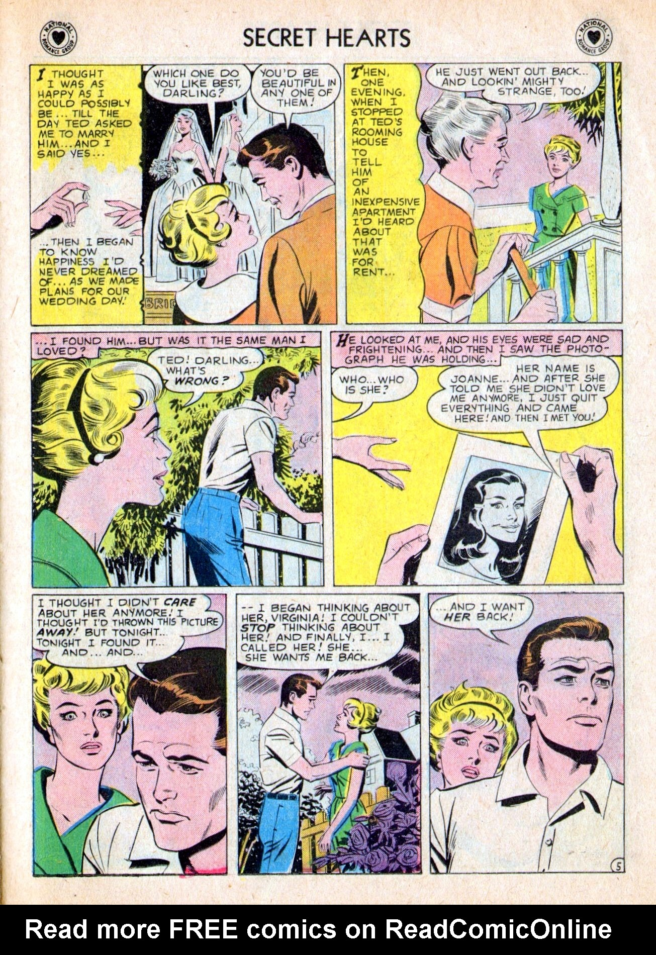 Read online Secret Hearts comic -  Issue #53 - 23