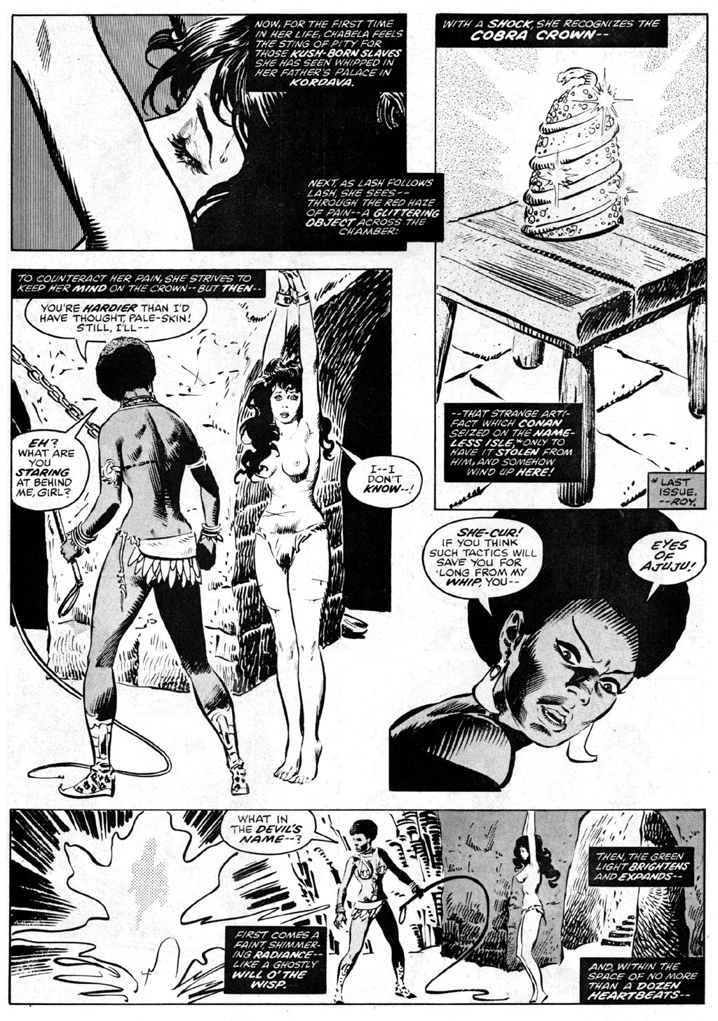 The Savage Sword Of Conan Issue #42 #43 - English 10