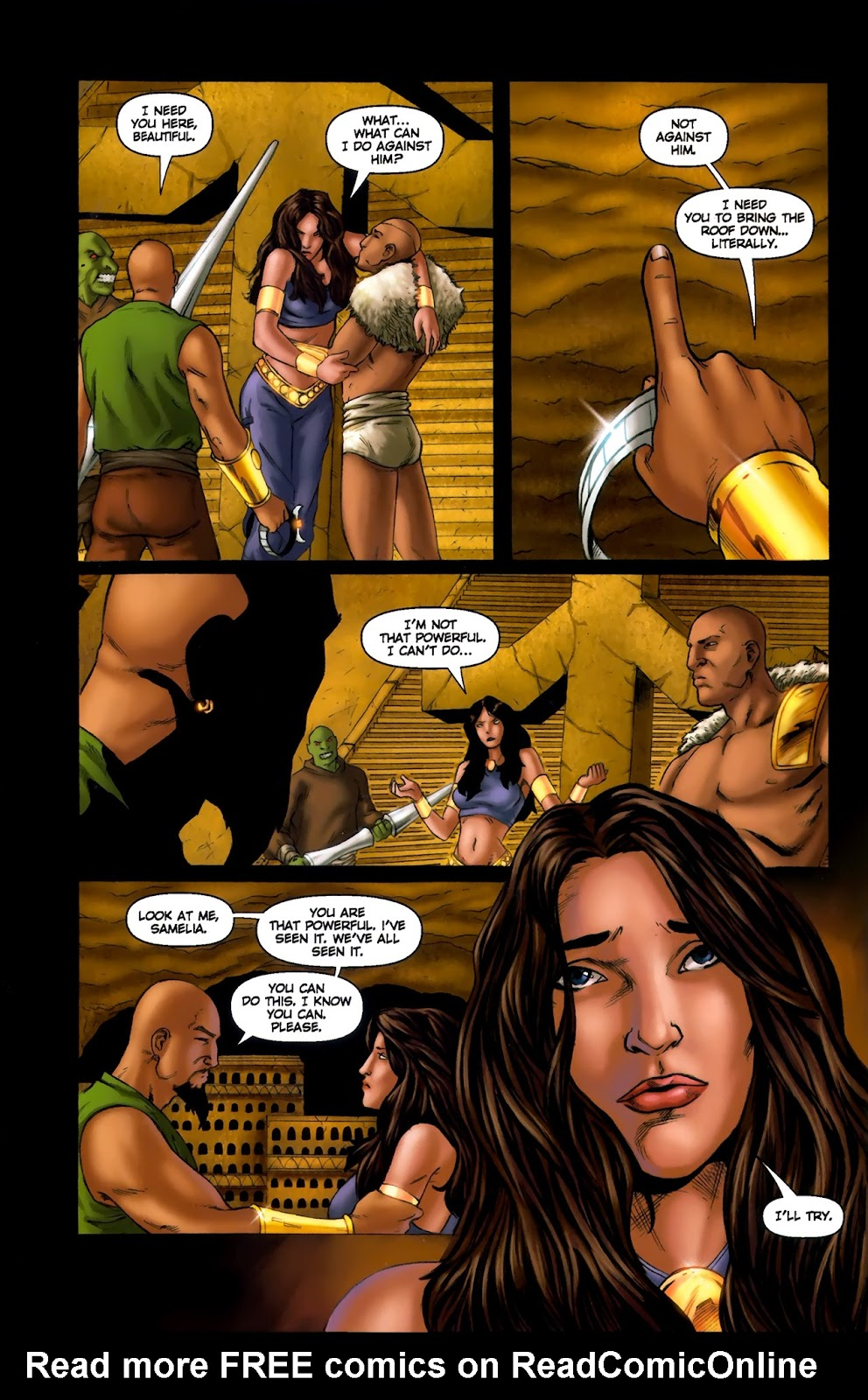 1001 Arabian Nights: The Adventures of Sinbad Issue #13 Page 15
