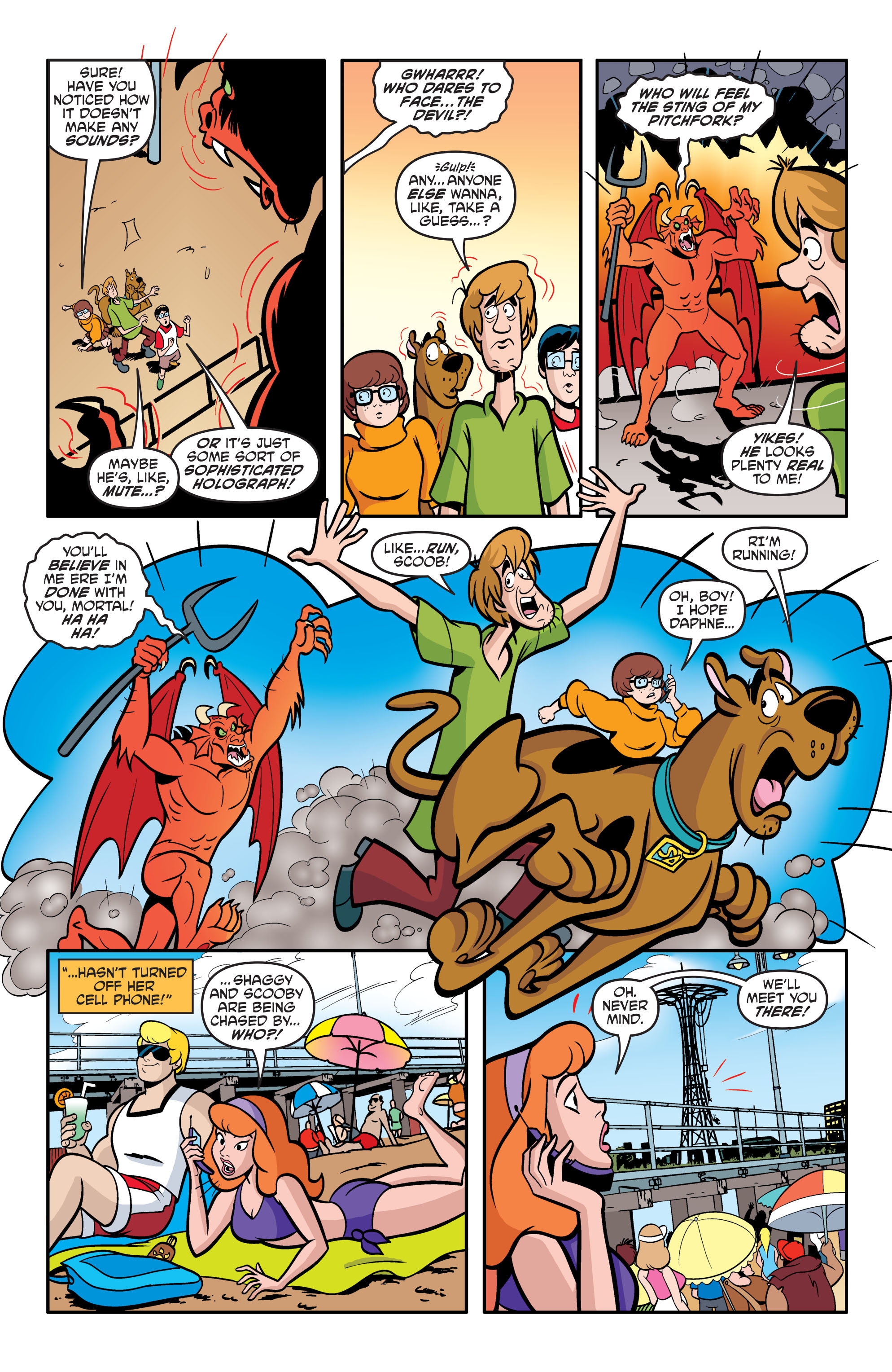 Read online Scooby-Doo: Where Are You? comic -  Issue #54 - 18