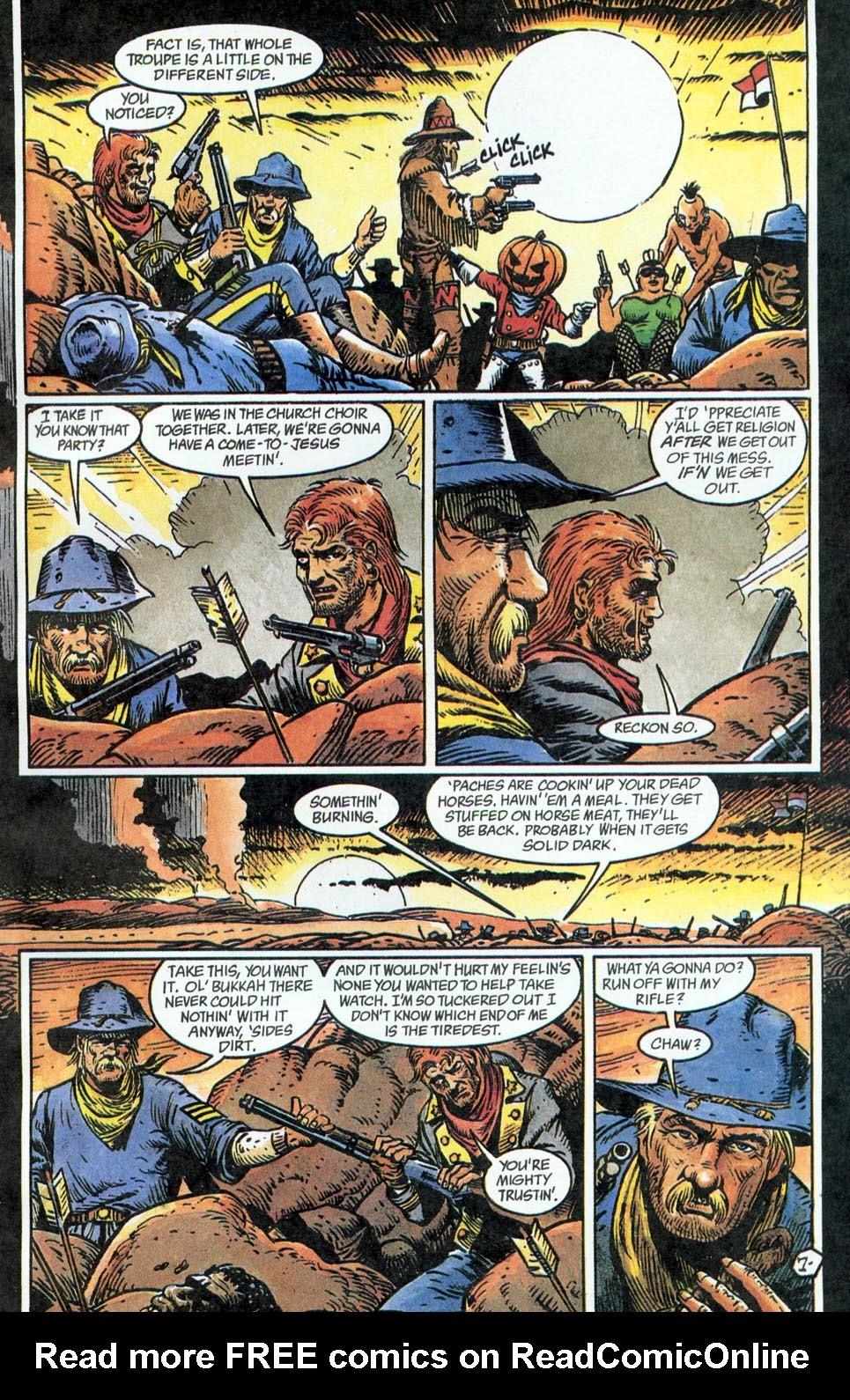Jonah Hex: Two-Gun Mojo Issue #5 #5 - English 9