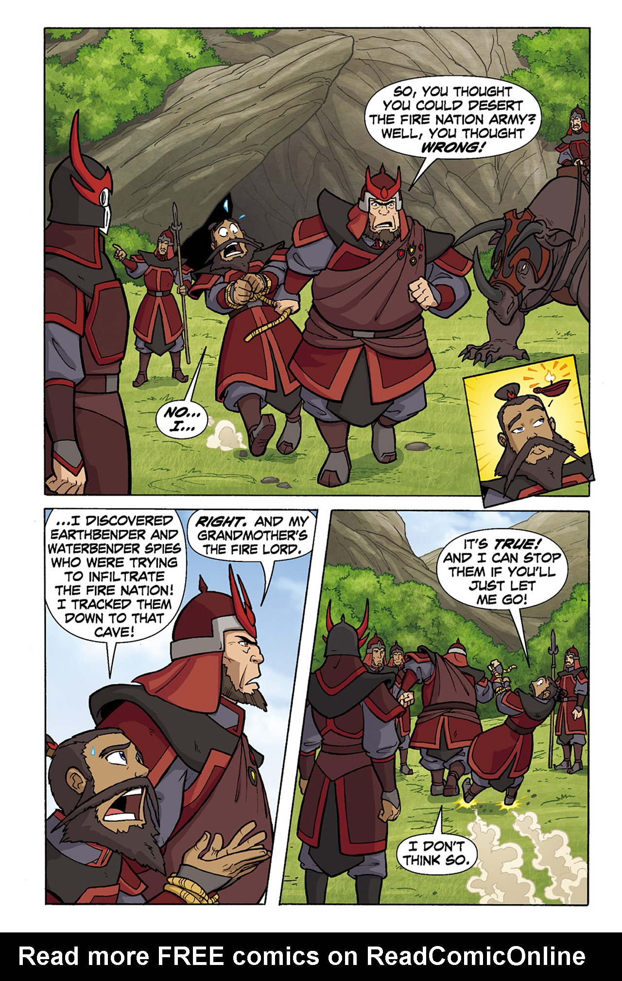 Nickelodeon Avatar: The Last Airbender - The Lost Adventures chap full pic 134