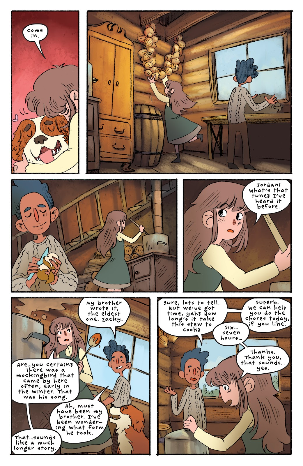 Over the Garden Wall (2016) Issue #4 #4 - English 23