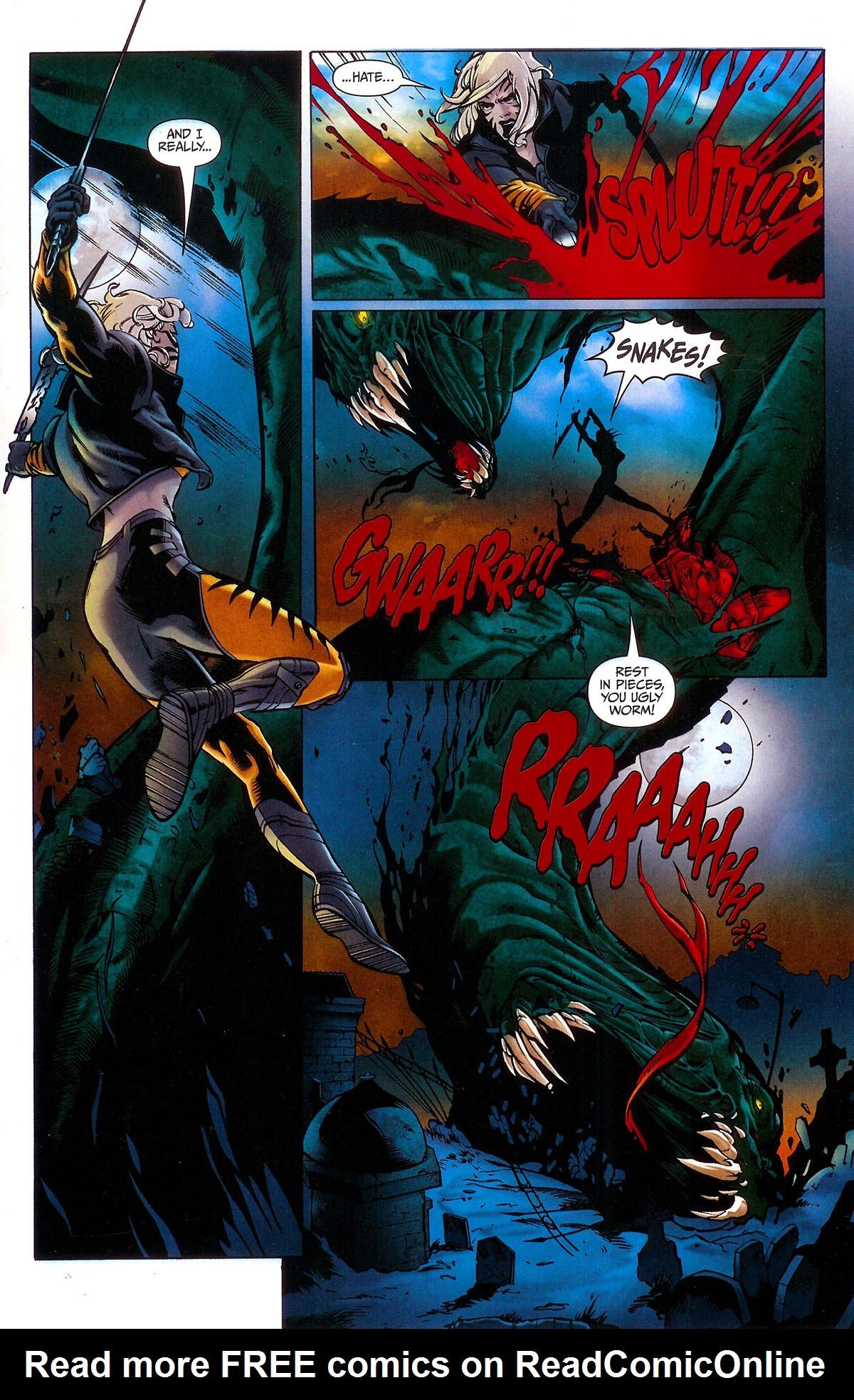 Read online BloodRayne: Dark Soul comic -  Issue # Full - 13