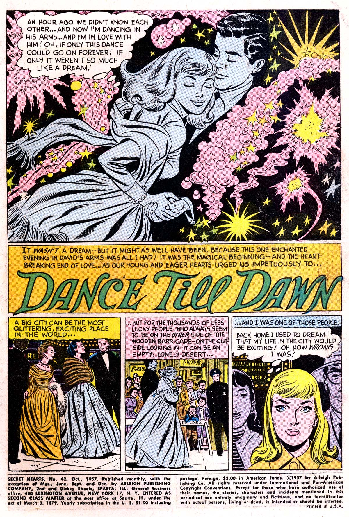 Read online Secret Hearts comic -  Issue #42 - 3