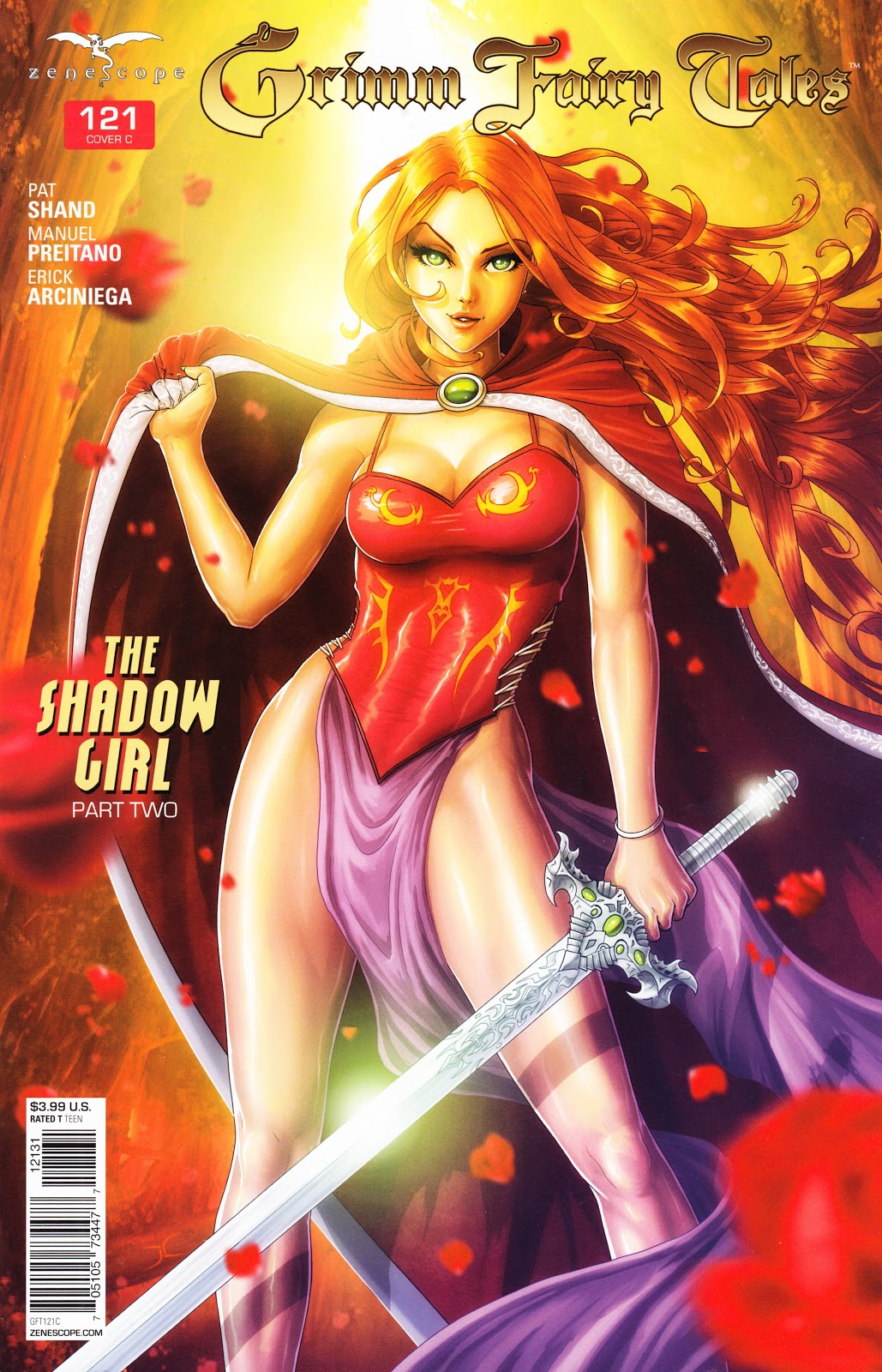 Grimm Fairy Tales (2005) Issue #121 #124 - English 2