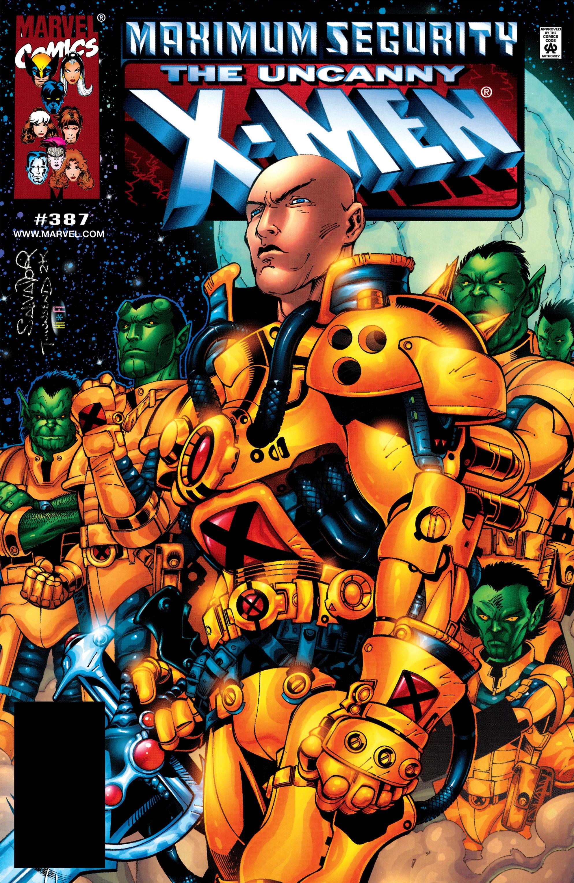 Uncanny X-Men (1963) 387 Page 1