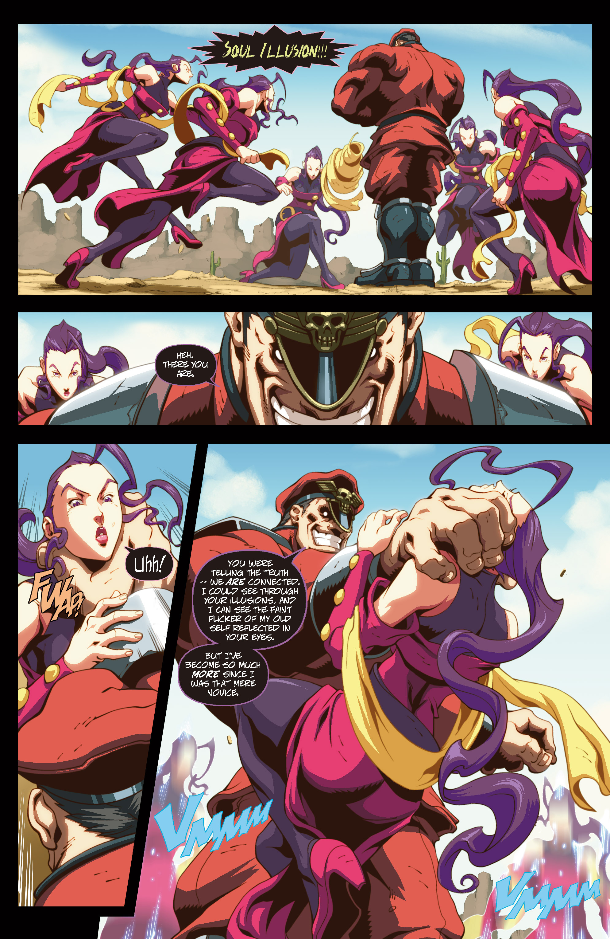 Street Fighter II chap 6 pic 13
