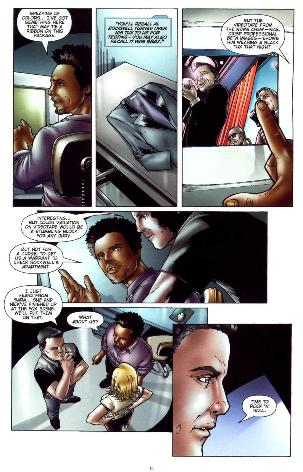 Read online CSI: Crime Scene Investigation: Bad Rap comic -  Issue #5 - 21