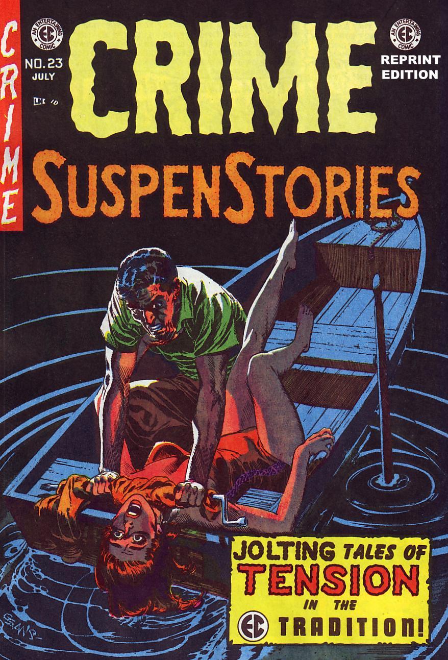 Crime SuspenStories 23 Page 1