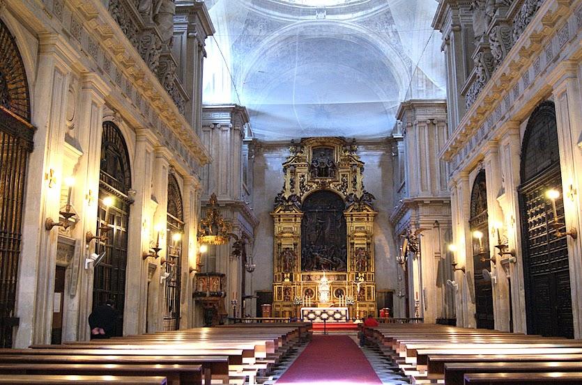Ferran sala casasampere visitando la catedral de sevilla - Catedral de sevilla interior ...