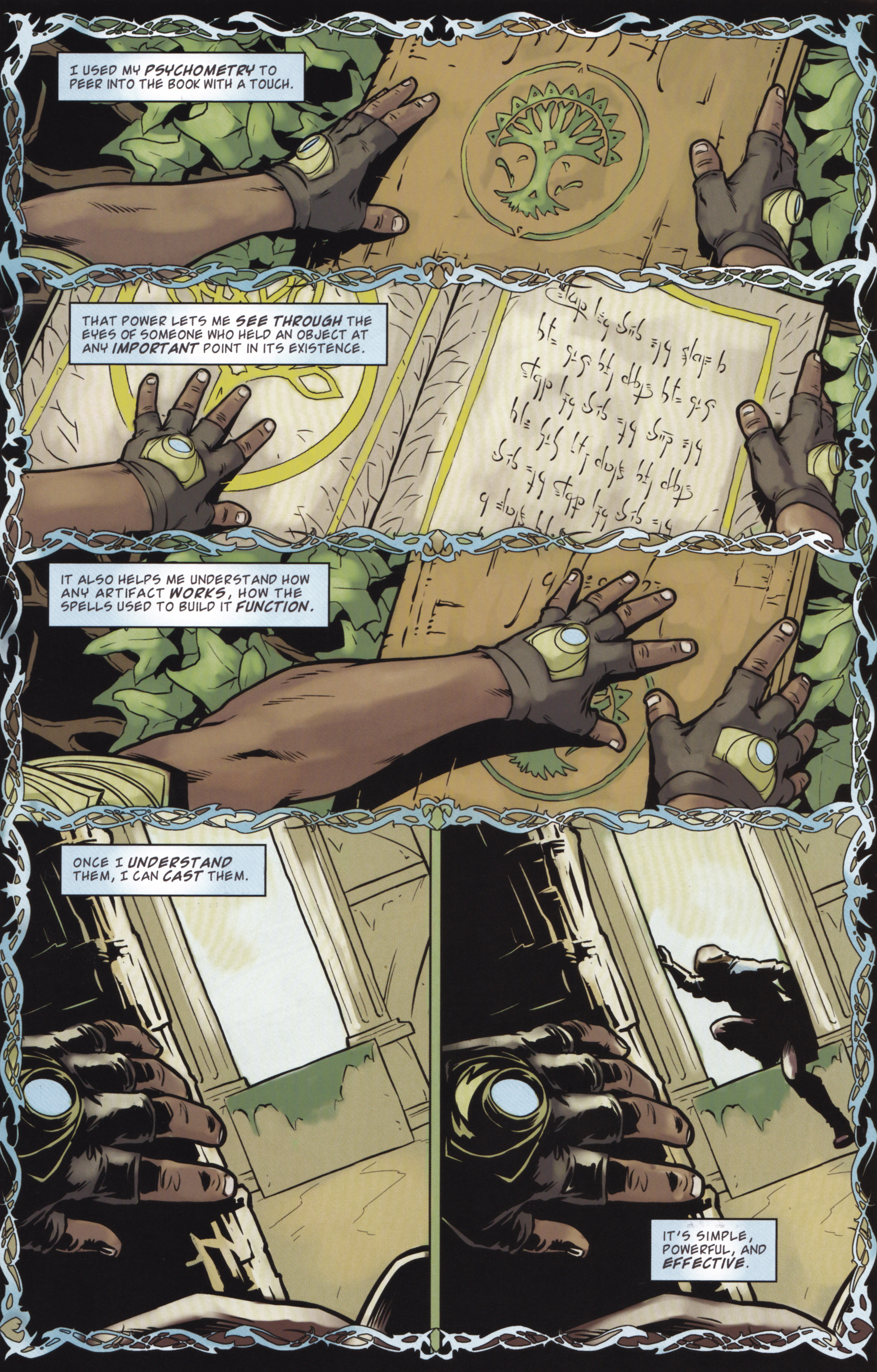 Read online Magic: The Gathering--Path of Vengeance comic -  Issue #2 - 11