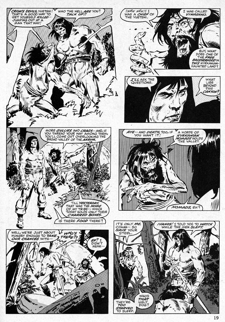 The Savage Sword Of Conan Issue #38 #39 - English 19