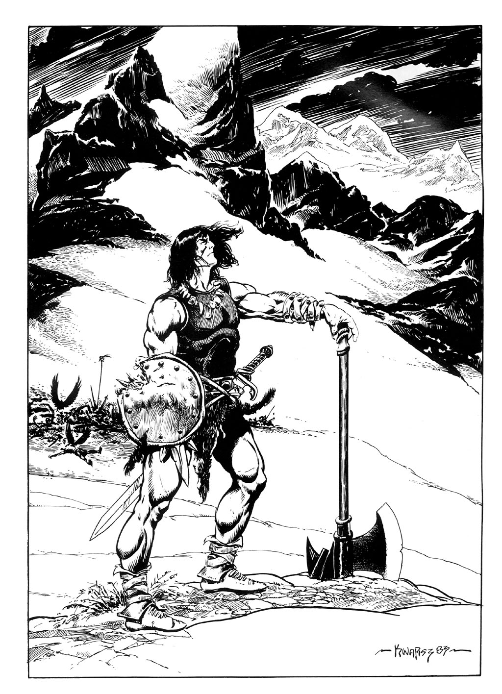 The Savage Sword Of Conan Issue #95 #96 - English 2
