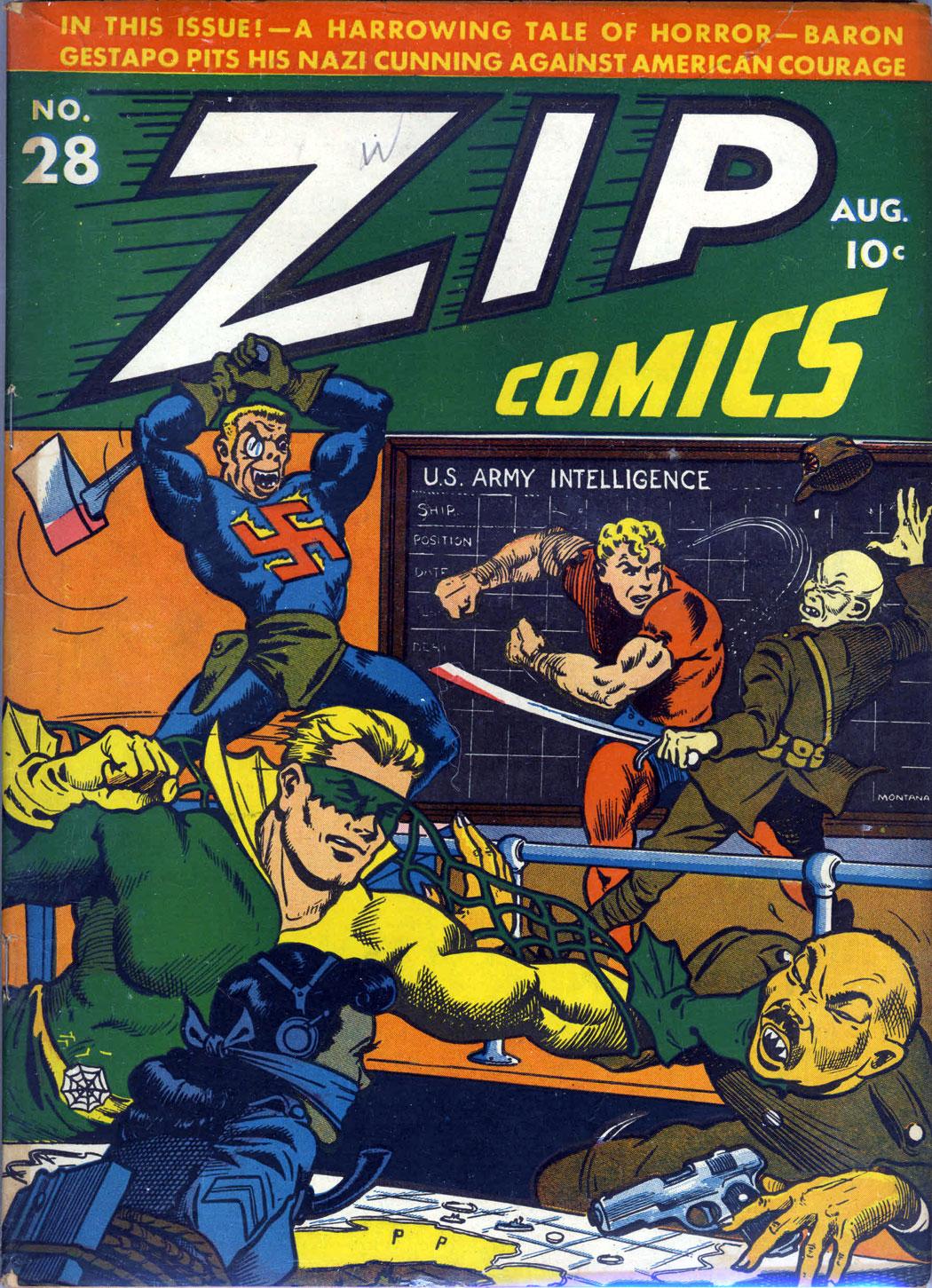 Zip Comics 28 Page 1