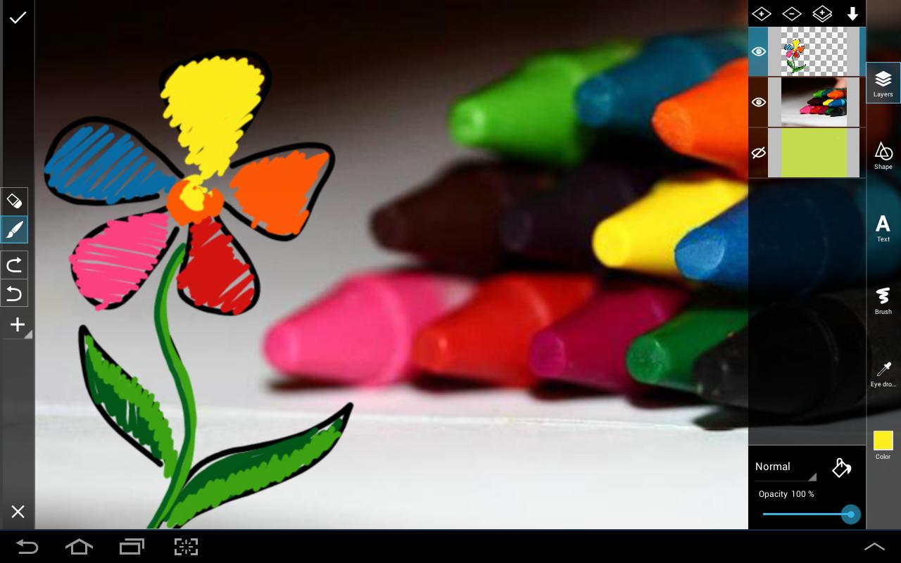 برنامج تعديل الصور بيكس ارت للأندرويد - PicsArt Android Apk