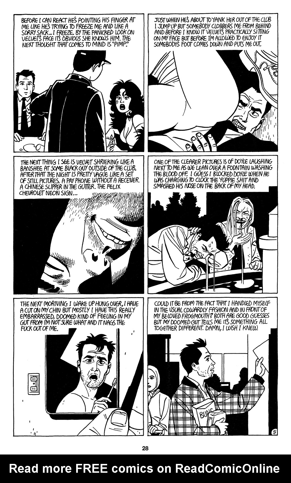 Read online Love and Rockets (2001) comic -  Issue #4 - 29