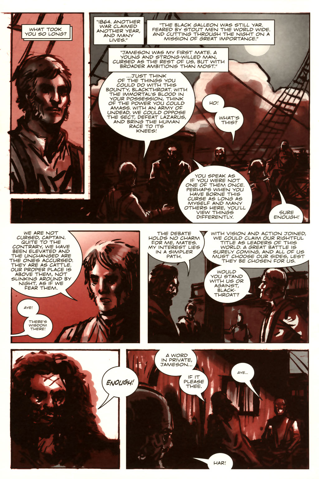 Read online Sea of Red comic -  Issue #9 - 11