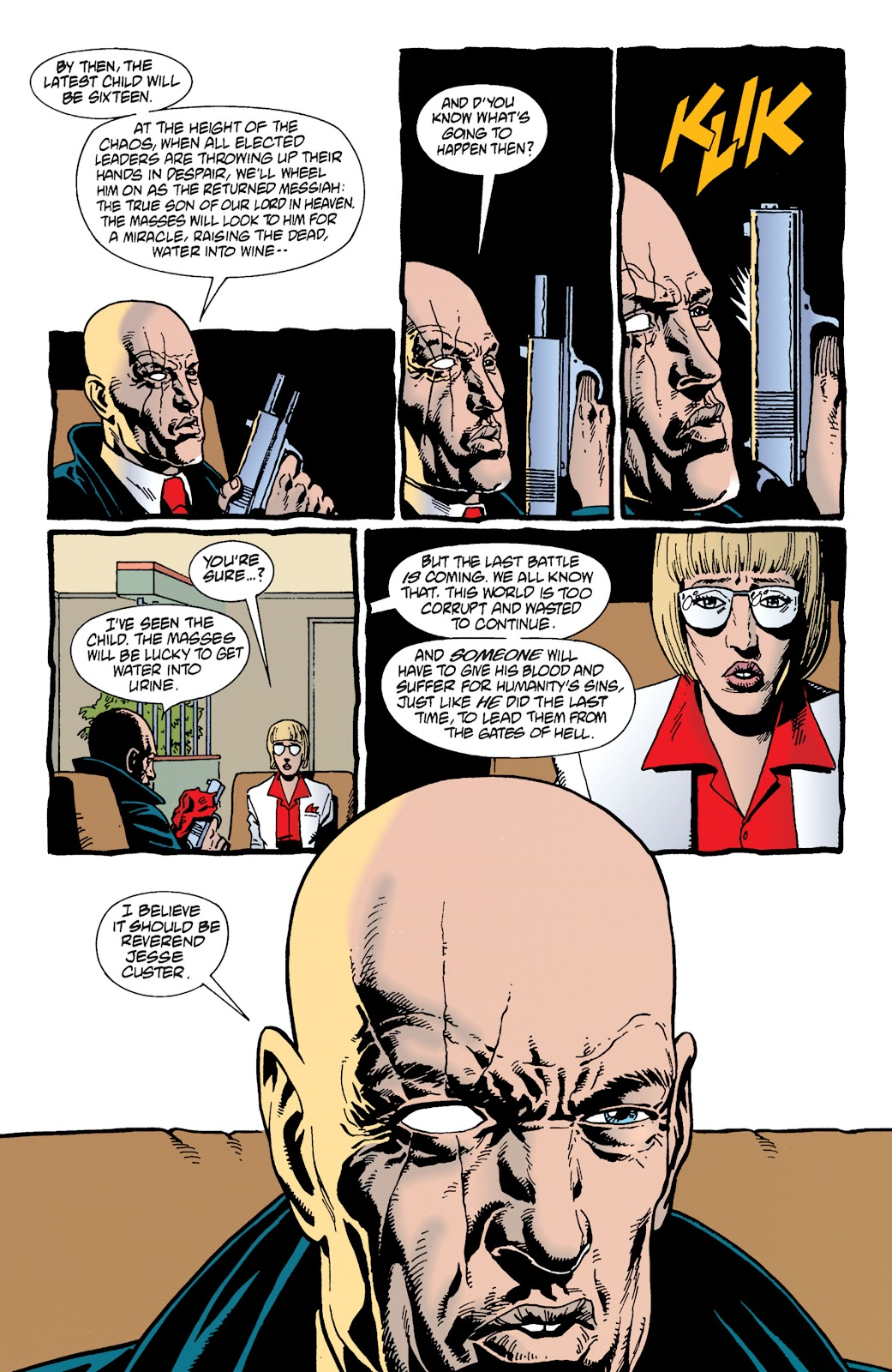 Preacher Issue #14 #23 - English 10