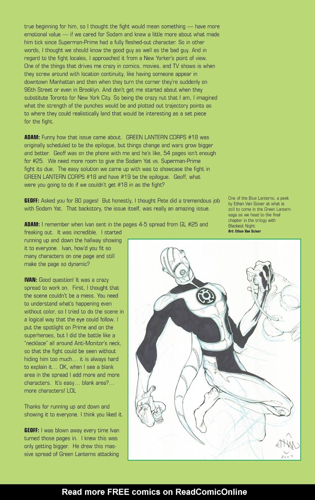 Green Lantern: The Sinestro Corps War Full #1 - English 311