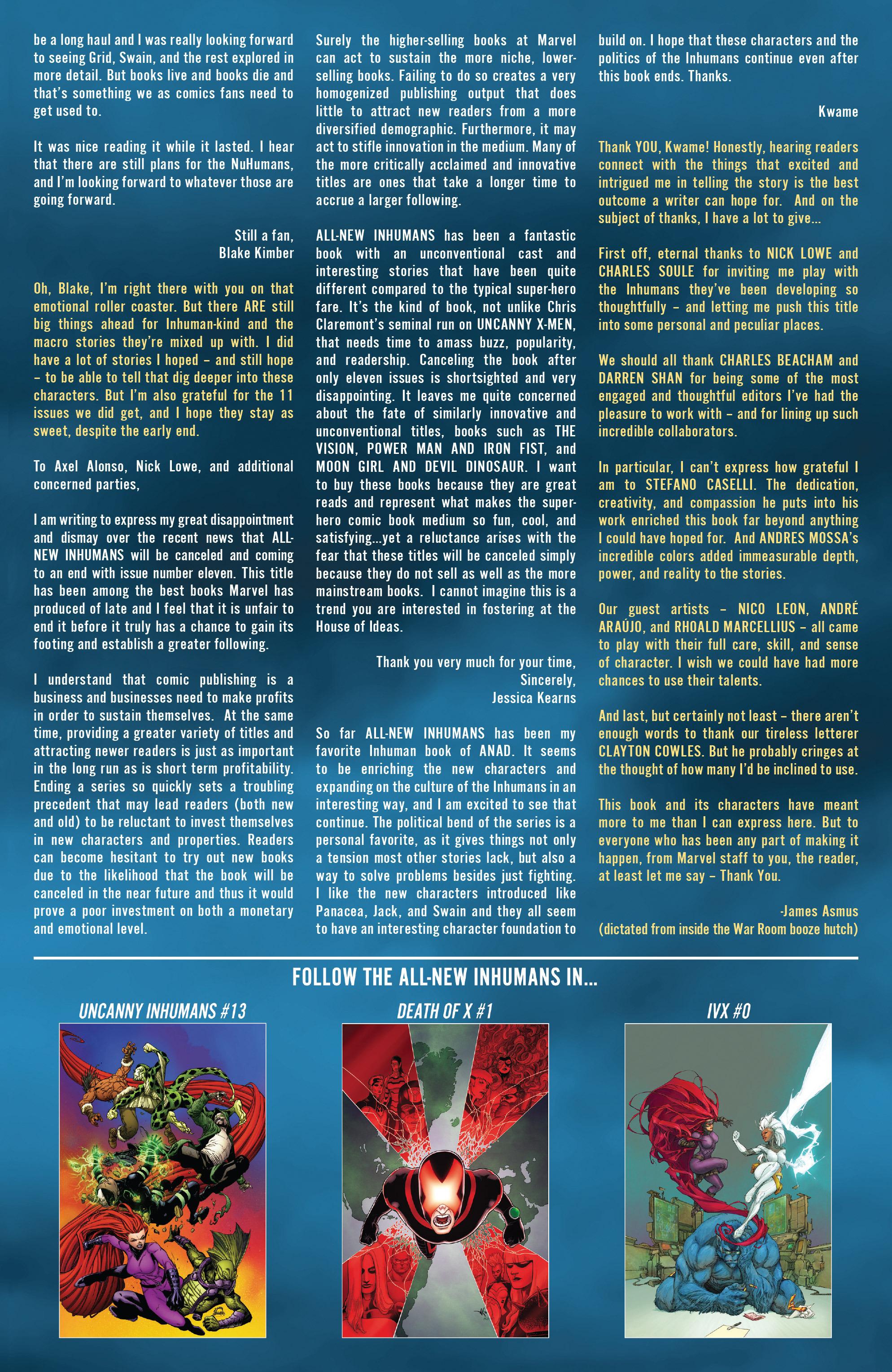 All-New Inhumans #11 #11 - English 24