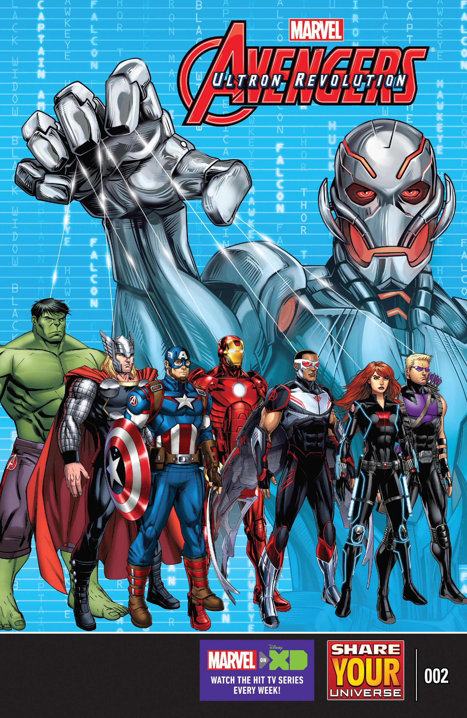 Read online Marvel Universe Avengers: Ultron Revolution comic -  Issue #2 - 1