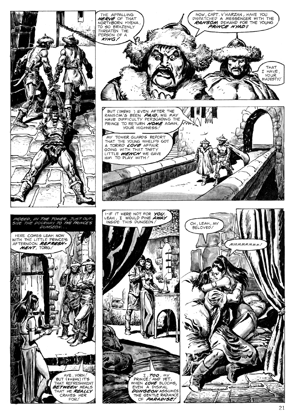 The Savage Sword Of Conan Issue #71 #72 - English 21