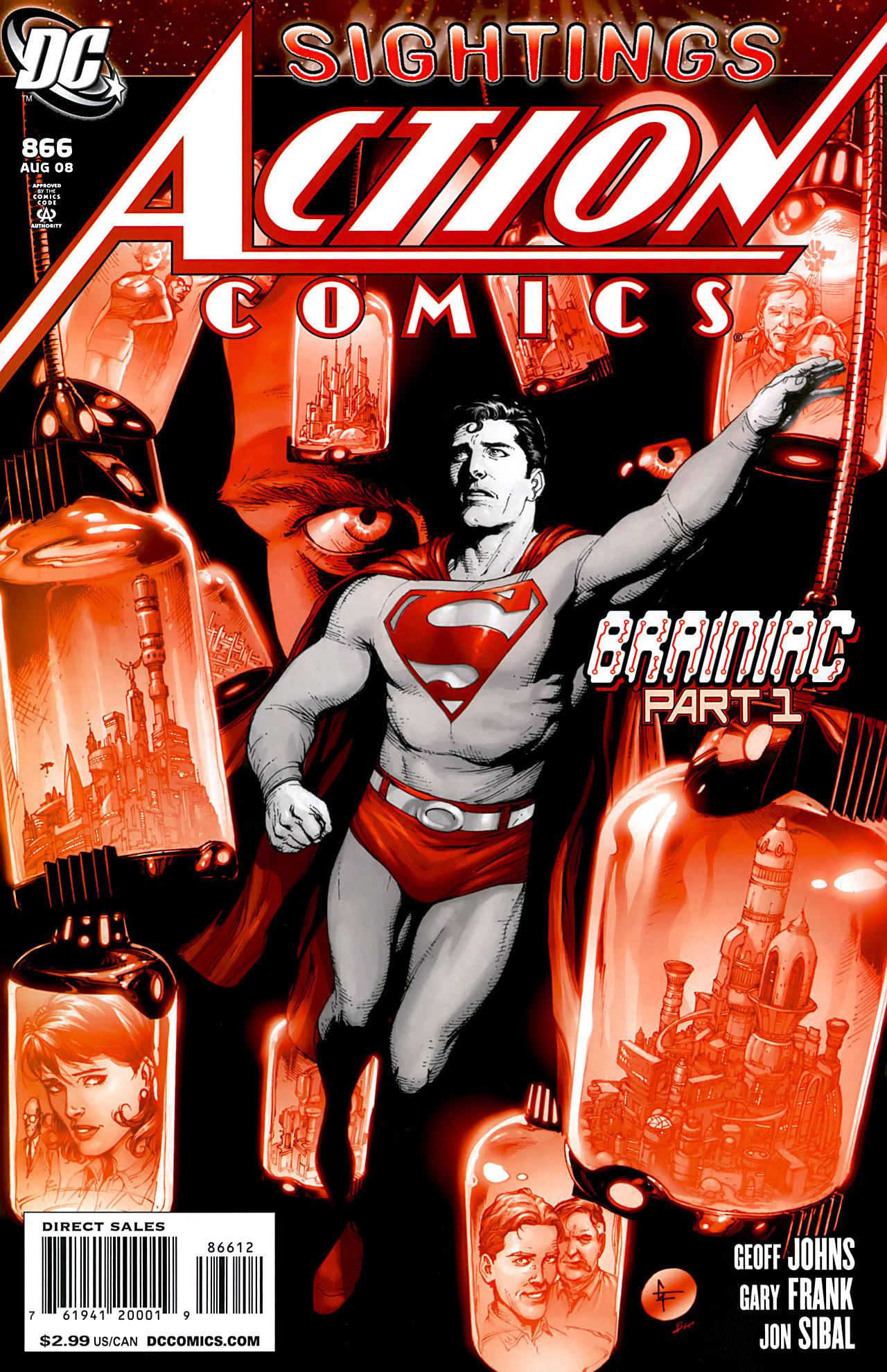 Action Comics (1938) 866 Page 1