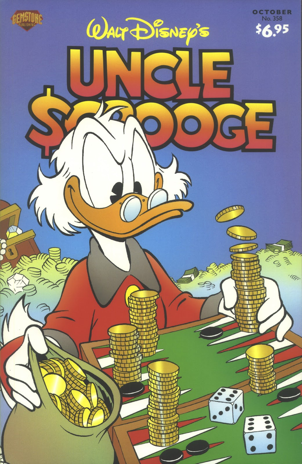 Uncle Scrooge (1953) Issue #358 #358 - English 1