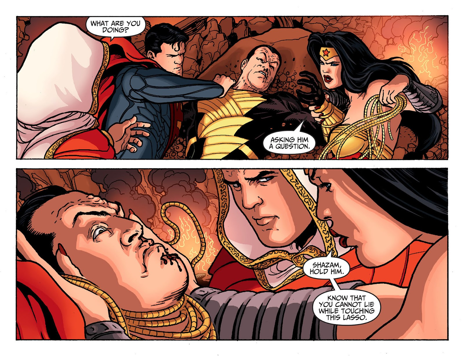 Injustice: Gods Among Us [I] Issue #19 #20 - English 16