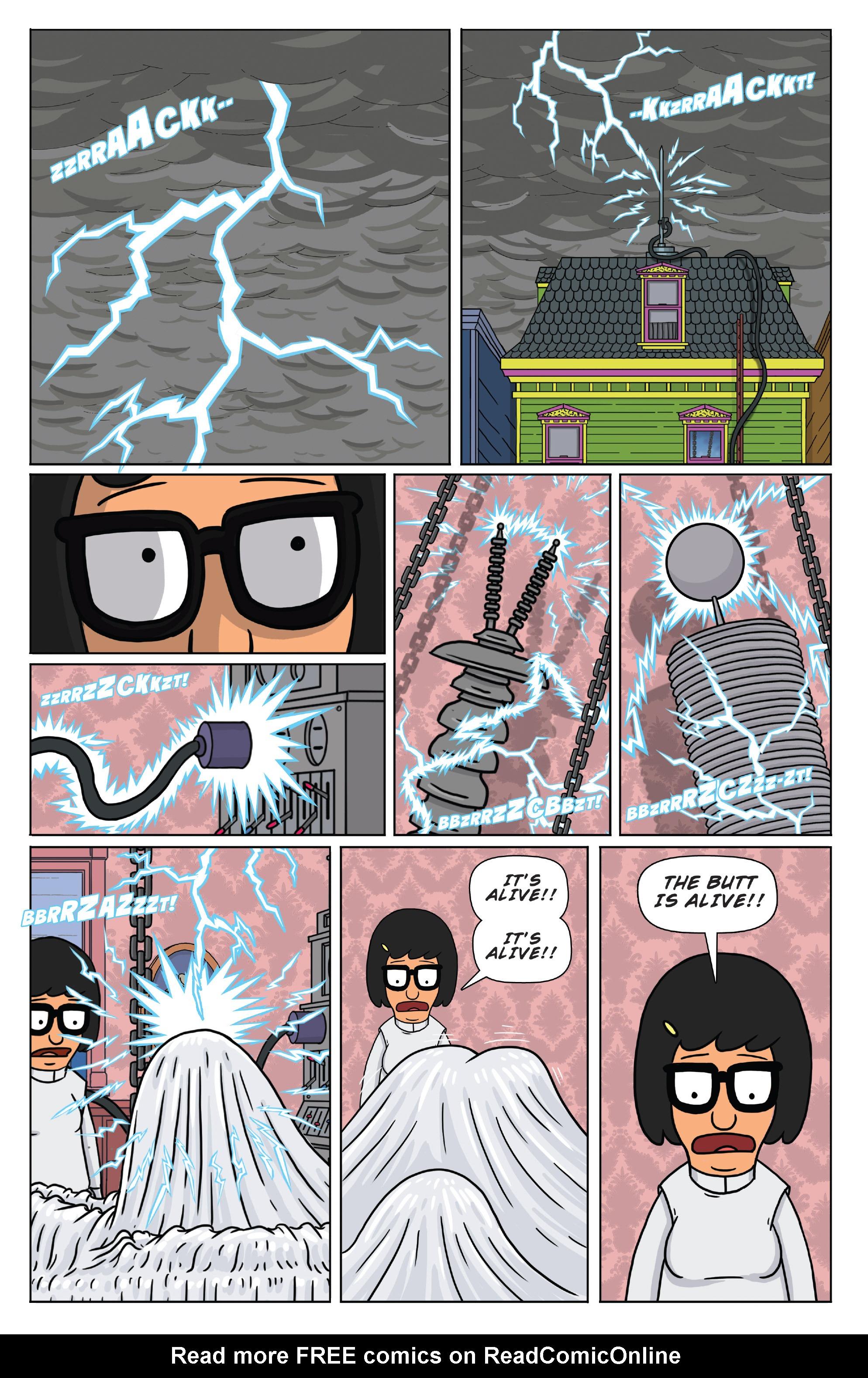 Read online Bob's Burgers (2014) comic -  Issue #4 - 4