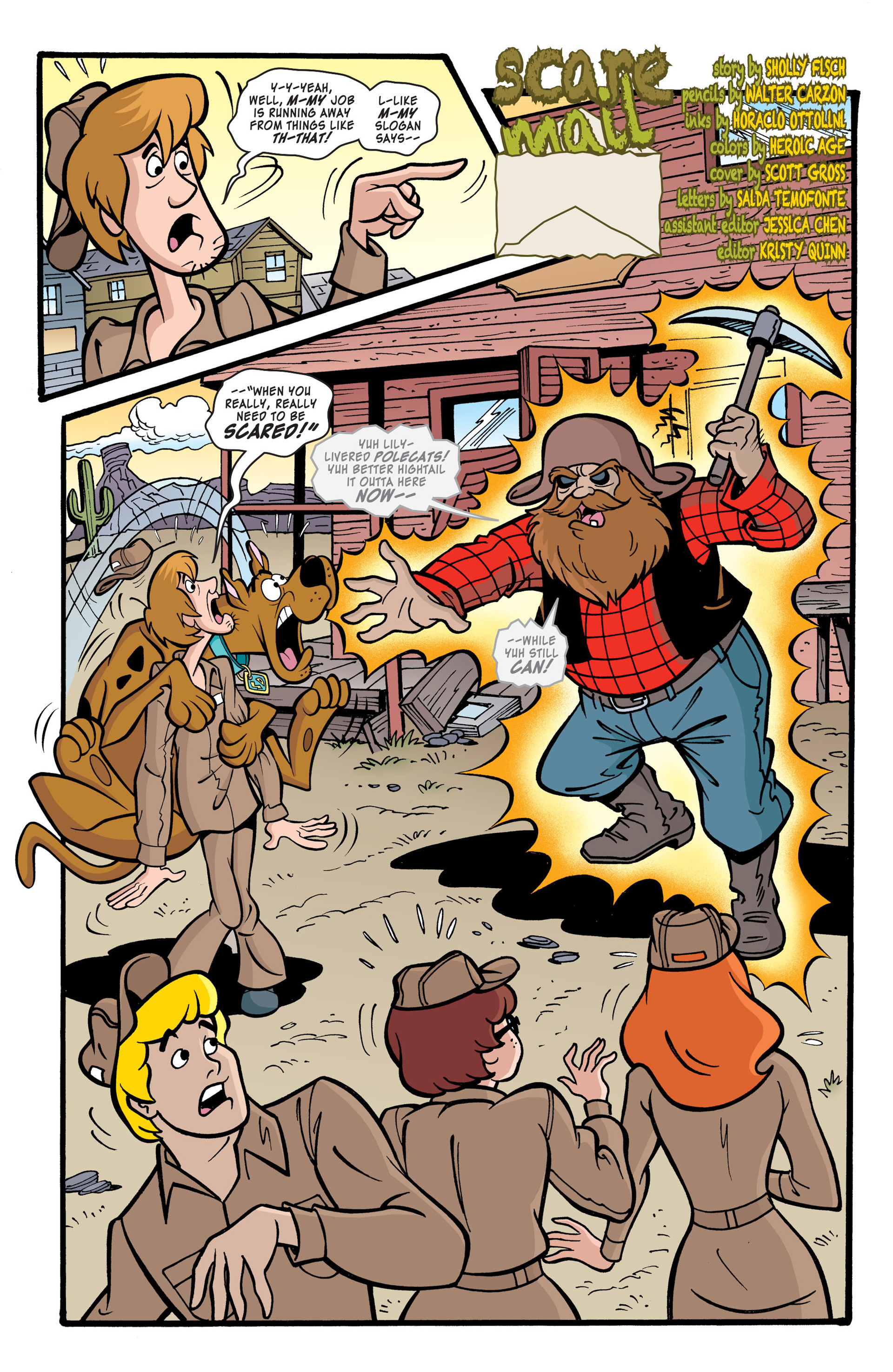 Read online Scooby-Doo: Where Are You? comic -  Issue #40 - 3