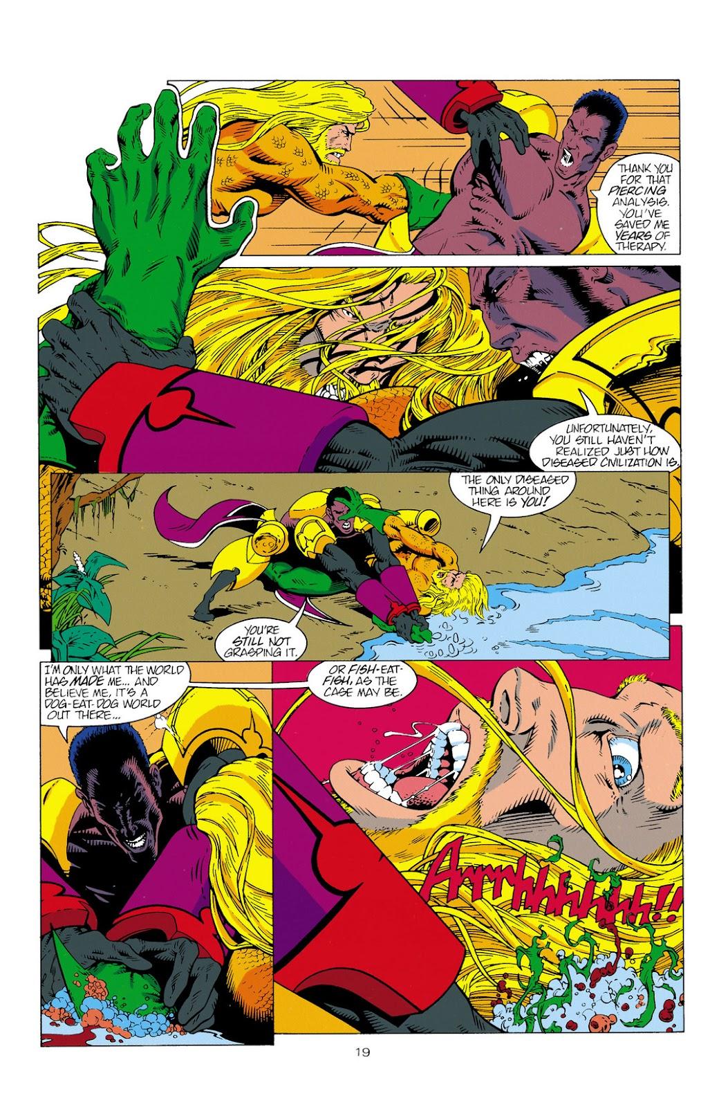 Aquaman (1994) Issue #2 #8 - English 20